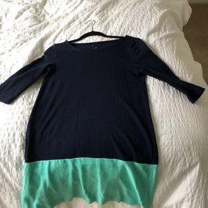Gap colorblock dress